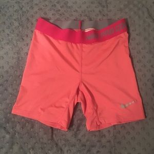 Nike pro combat compression dry-fit shorts